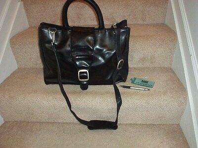 USAirways Leather Carry Bag