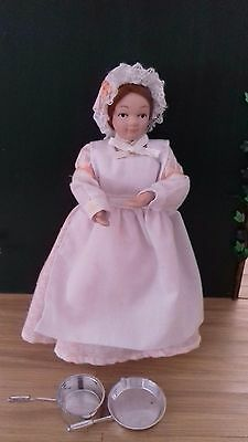 1/12th scale Victorian/Edwardian maid/cook doll