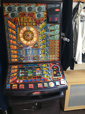 Legal Tender Fruit Machine, £25 Or £5 Jackpot, Takes New £1 Coins! Bargain!