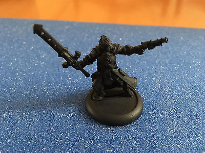 Warmachine Cygnar Warcaster Commander Coleman Styker - Ready to Paint, Lead