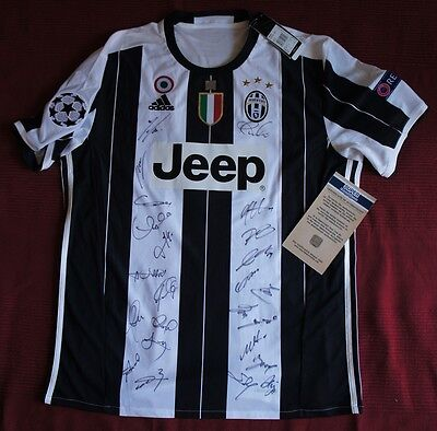 Marchisio Team signiert FC Juventus Home Trikot Adidas Jersey COA signed Higuain