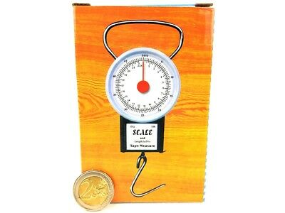 22KG/50lb LUGGAGE SCALES and 1m/39in Tape Measure