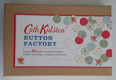 Cath Kidston  Button Factory  NEW & Sealed  Create 25 fabric-covered buttons