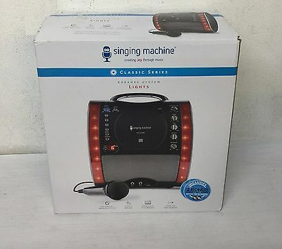 Singing Machine SML343 Karaoke Machine + 3 CDs + Mic - Black