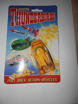 MATCHBOX THUNDERBIRDS - Thunderbird 4 Pull Back Vehicle Carded 1993
