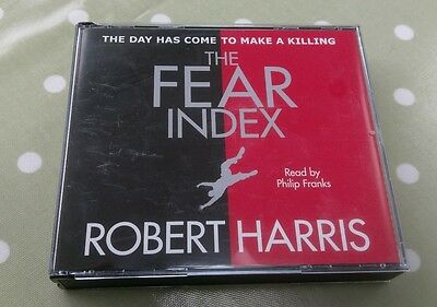 Robert Harris the fear index Audio book CD