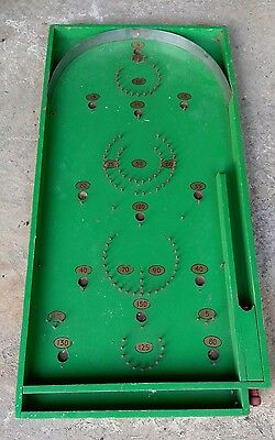 Original wooden Chad Valley pin ball game