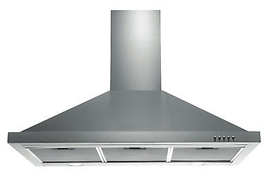 Stainless Steel 90cm 900mm Canopy Range Hood Kitchen Rangehood New Commercial