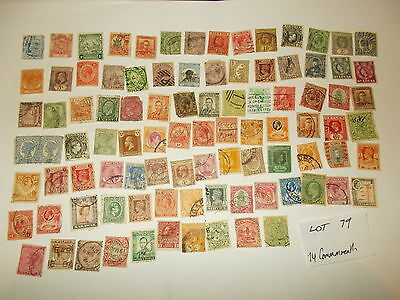 Stamps GB 74 Old World Commonwealth Stamps L079
