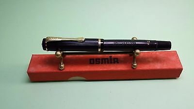 Osmia Supra 72 F fountain pen - mint