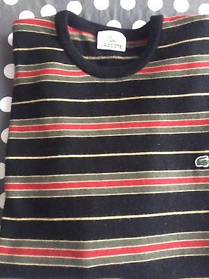 Pull homme de marque Lacoste taille S