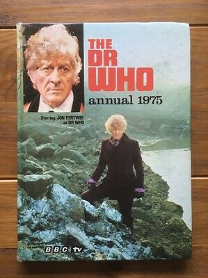 The Dr Who Annual 1975