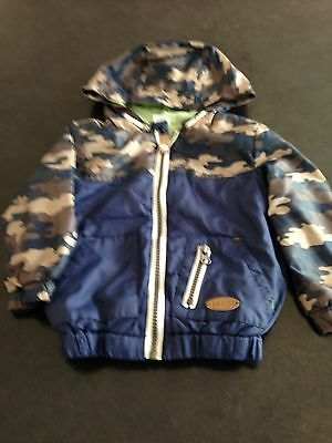 Baby Boy F&F Hooded Jacket Age 9 To 12 Months
