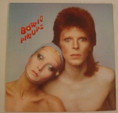 David Bowie - Pinups LP - French copy with insert