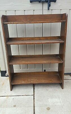Vintage Oak Bookcase/shelves