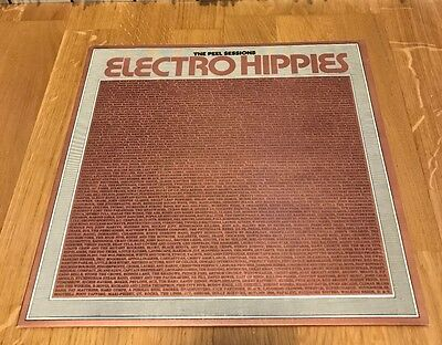 "Electro Hippies Peel Sessions 12""EP LTD UK87 NrMINT Insert Extreme Noise Terror"