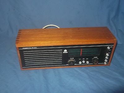 Vintage / Retro Roberts Wooden Case Radio Model RM33 In Full Working Order