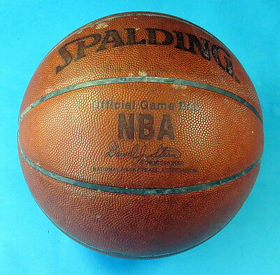 Official Game Ball ~ NBA Washington Wizards ~ Spalding Basketball ~ David Stern