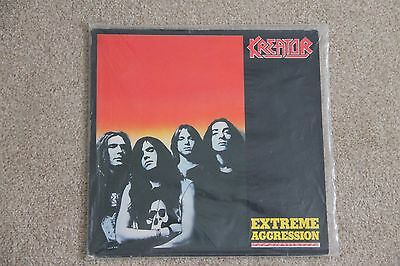 Kreator - Extreme Aggression 1989 1st Noise Press LP Made in West Germany vinyl