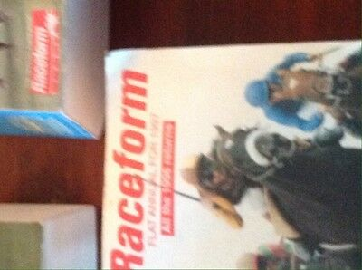 Horse racing Race Form Books