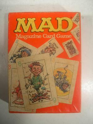 Vintage 1980 MAD Magazine Card Game Parker Brothers No. 724 Complete!