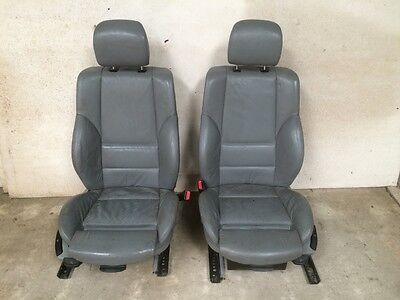 BMW E46 M Sport Grey Nappa Saloon/Touring leather front seats