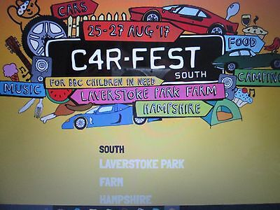 Carfest South day tickets for Friday 2x ADULT TICKETS
