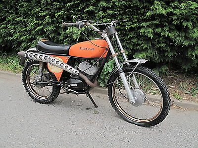Benelli Panther 125 Cross 70S Two Strole Trail Bike US Import Barn Find *RARE*