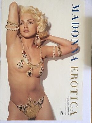 Madonna Exotic In Jewelry Bikini Poster and Double Sided Poster