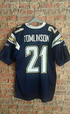 NFL Tomlinson Los Angeles Chargers American Football Premier Shirt Jersey Size L