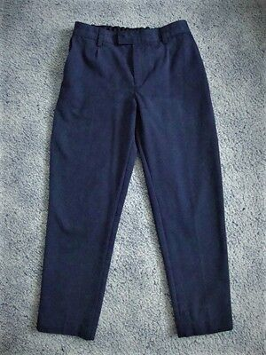 MARKS & SPENCER Navy Blue Boys School Trousers - Age 10 - 11 years