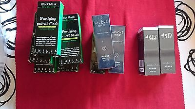 LOT REVENDEUR !! Masque Boue Charbon Anti Acné Point Noir Black Mask Peau Soin