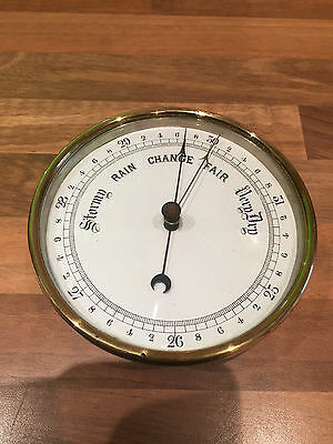 Antique Ships Brass Aneroid Barometer 1892 Boat Maritime Marine Boat
