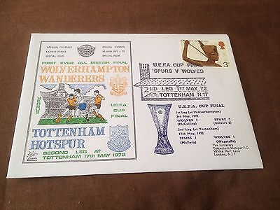 1973 League Cup Final – Commemorative Cover – Tottenham V Norwich City