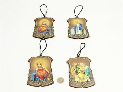 Jesus & Mary 9x13.5cm DECORATIVE HOLY HANGER choose your design