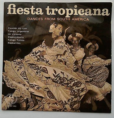 """Fiesta Tropicana Dances from South America 7"""" EP Concert Hall M 977"""