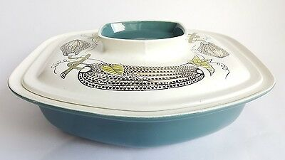 Vintage Poole Pottery Lucullus Range Tureen, Designed by Robert Jefferson 1961