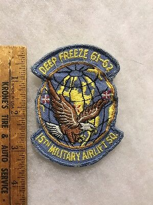 USAF 15th Military Airlift Squadron Patch Deep Freeze