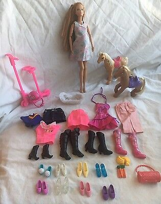 Barbie Pregnant midge doll with belly mattel 2002 With Other Accessories.