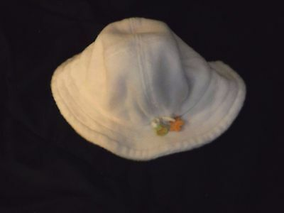 "Infant's ""Gymboree"" brand White Terry Sun Hat - size 0-3 months"