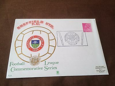 Football League Commemorative Series Cover – Sheffield United 1972 Fl8