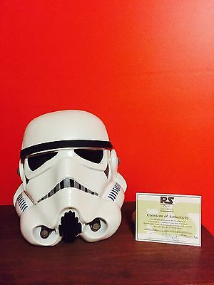 RS PropMasters Authentic Stormtrooper Helmet - Cast From ORIGINAL.