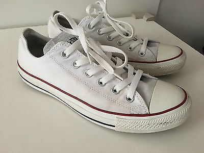 Men's CONVERSE All Star White Trainers – UK Size 8 (42)