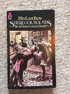 Sherlock Holmes Book His Last Bow Vintage Collectible Paperback 1980 Pan