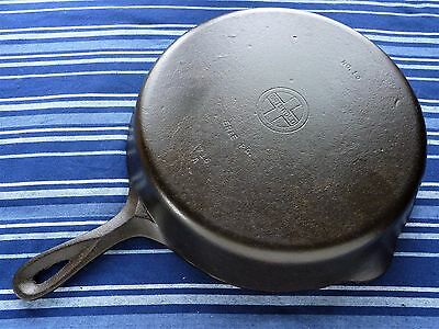 Vintage GRISWOLD Cast Iron SKILLET Frying Pan RESTORED # 10 SMALL BLOCK LOGO