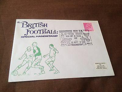 British Football Special Handstamp Commemorative Cover – Manchester City 1972