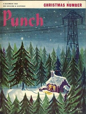 Punch magazine 8 December 1965 – Christmas Issue