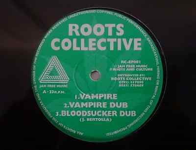 "Roots Collective ‎– Vampire / Awake Zion - 12"" Vinyl  Jah Free KILLER DUB REGGAE"