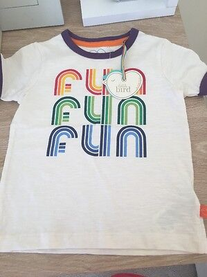 Bnwt Little Bird 12-18m Fun T Shirt