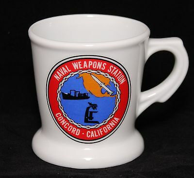 United States Navy / USN Coffee Mug - Naval Weapons Station Concord, California